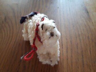 犬の置物の画像