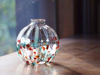 クリスマスの花瓶の画像