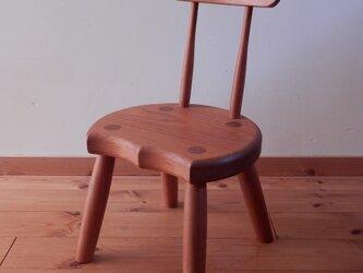 小椅子 ch0711 チェリー 子ども椅子の画像