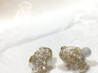 HARE earrings usuzumi-iroの画像
