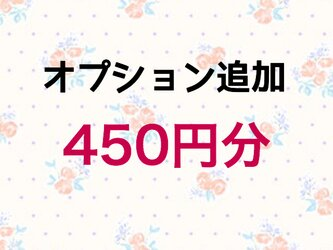 【450円】オプション追加の画像