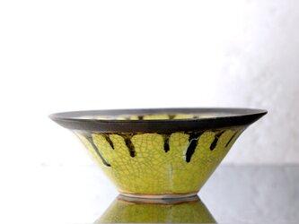 黄釉(貫入)のbowlの画像
