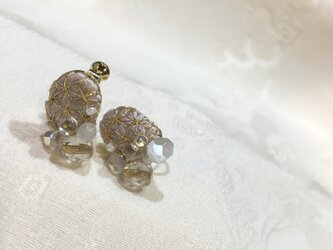 HARE earrings ebi-iroの画像