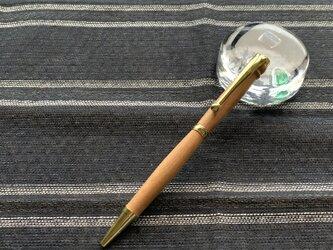 木のボールペン(しゅりさくら)②の画像