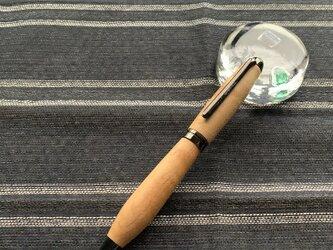 木のボールペン(カエデ)の画像