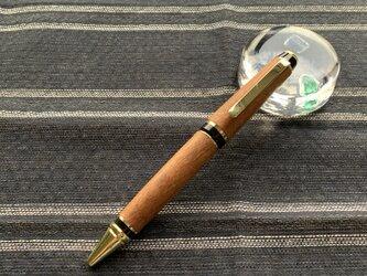 木のボールペン(かりん)の画像