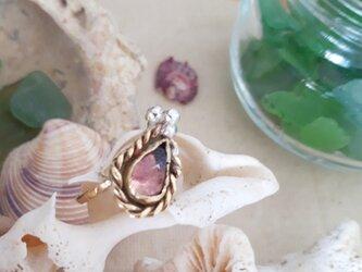 【13 号】brass amethyst ringの画像