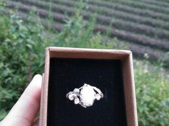 【受注制作】白い野花 の画像