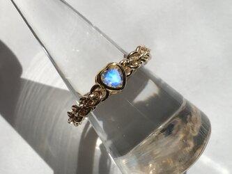 『 Shining heart ( all ) 』Ring by K14GFの画像