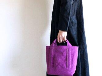 TOTE BAG (S) / purpleの画像
