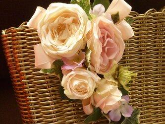 花のバスケットバック♪②の画像