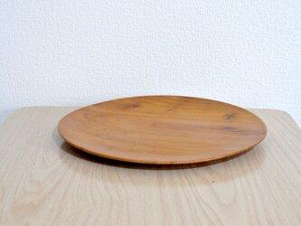 プレート皿①(ケヤキ)の画像
