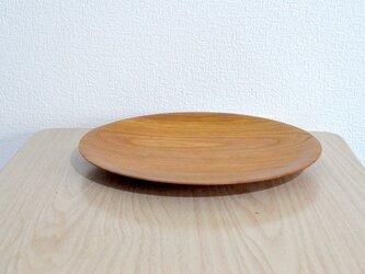 プレート皿②(ケヤキ)の画像