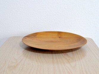 プレート皿③(ケヤキ)の画像
