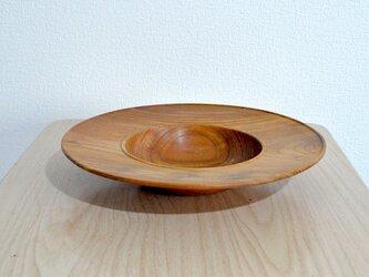 パスタ皿②(ケヤキ)の画像