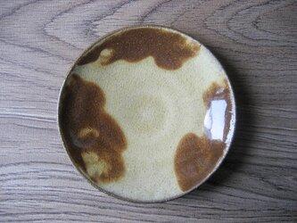 スリップウェア 小皿の画像