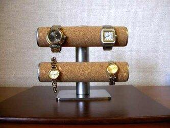 腕時計 飾る 手動式腕時計スタンド だるま ak-designの画像