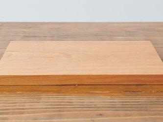 【再入荷】チェリーのカッティングボード 四角の画像