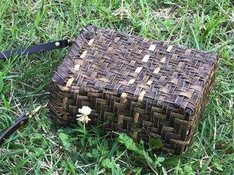 露草 つゆくさ〜くるみのショルダーバッグ〜の画像