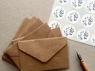 選べるシールと封筒20枚セットの画像