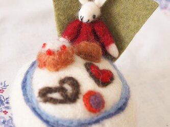 ピンクッション アリスのティーパーティー 【白ウサギ】の画像