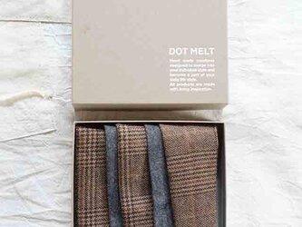 patchwork turban (woolmix 19aw-b)の画像