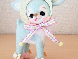 メルヘン♡レトロな空色バンビちゃんの画像