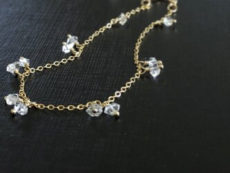 herkimer diamond*braceletの画像
