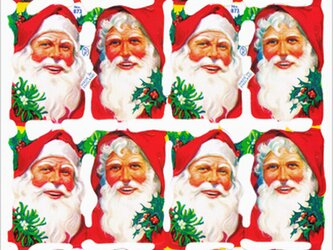 イギリス製クロモス サンタ#1 ラメなし DA-CHER093の画像