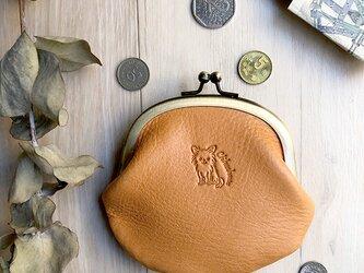 がま口財布  [チワワ/ロングコート]の画像