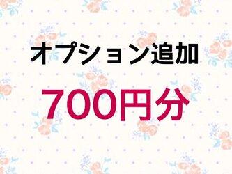 【700円】オプション追加の画像
