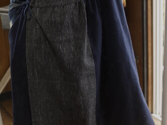 J様専用 久留米絣2種カシュクールノースリーブ羽織の画像