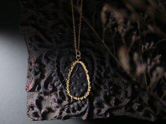 真鍮ネックレス「星の歌」Ⅱの画像