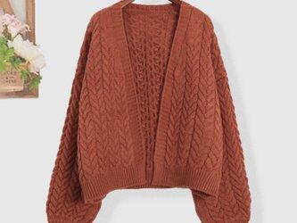 冬 暖かい おしゃれ 着痩せ セーター ニット ニットトップス レディースの画像