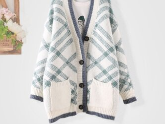 冬 レディース 手編み 大人かわいい ニット ニットトップス トップス セーター おしゃれの画像