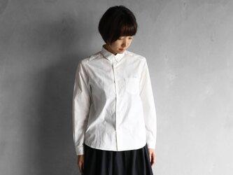 001Wオーガニックコットンシャツsize1【ユニセックス】の画像