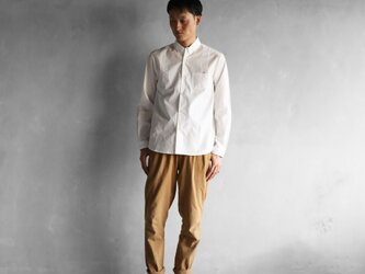 001Wオーガニックコットンシャツsize3【ユニセックス】の画像