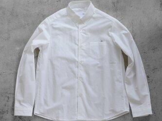 001Wオーガニックコットンシャツsize4【ユニセックス】の画像