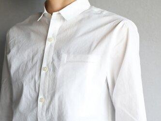 003Wオーガニックコットンシャツsize2【ユニセックス】の画像