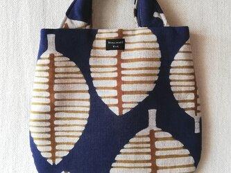 型染めミニドロップバッグ「落葉の季節」の画像