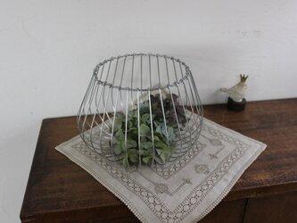 タマネギっぽいワイヤーバスケット(大)の画像