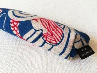 型染め ペンケース「人魚の夢」の画像