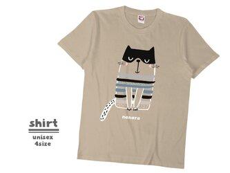 《北欧柄》Tシャツ 4color/S〜XLサイズ sh_022の画像