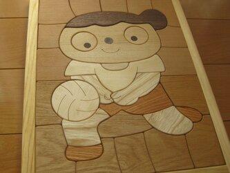 木製パズル(バレーボール)の画像