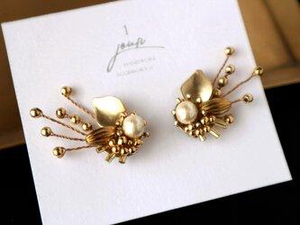pierce / 耳に添う[ Botanical bouquet ]の画像