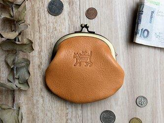 がま口財布 [トラ猫]の画像