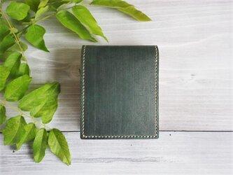 二つ折り財布 box/5【受注製作】の画像
