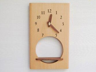 31cm×19cm 掛け時計 ブナ【1912】の画像