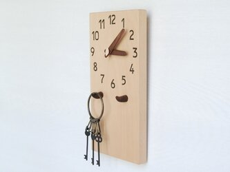28cm×14cm 掛け・置き時計 ブナ【1913】の画像