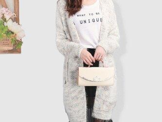 超暖かい 手編み セーター トップス ニットトップス ロングカーディガン 暖かいの画像